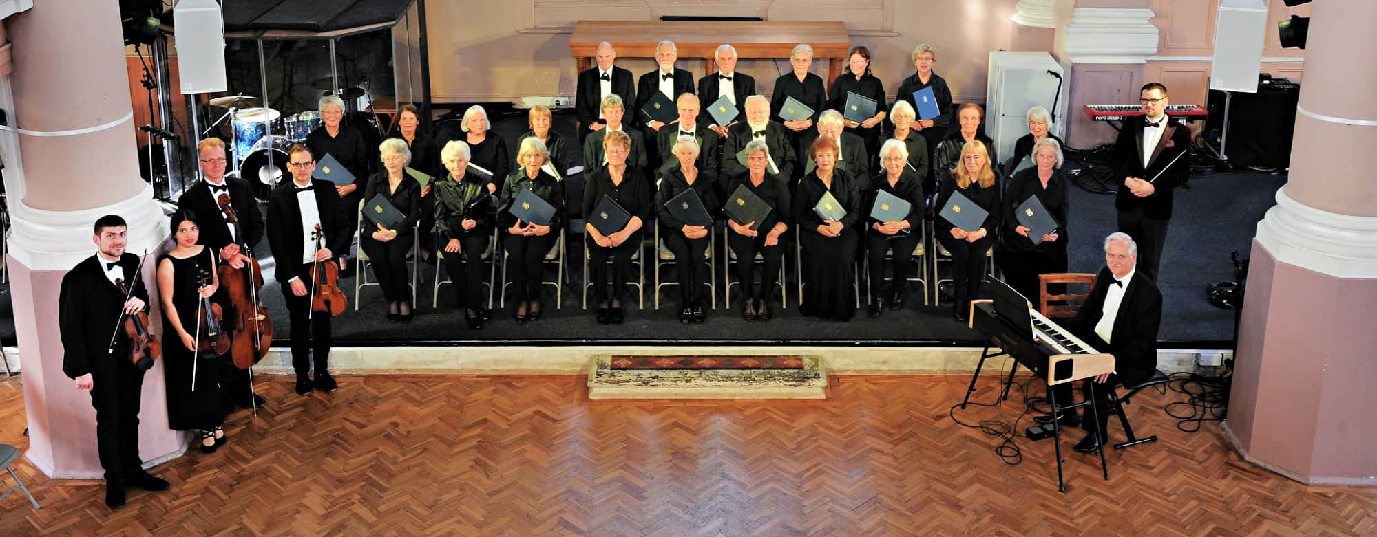 Portsmouth Festival Choir in performance
